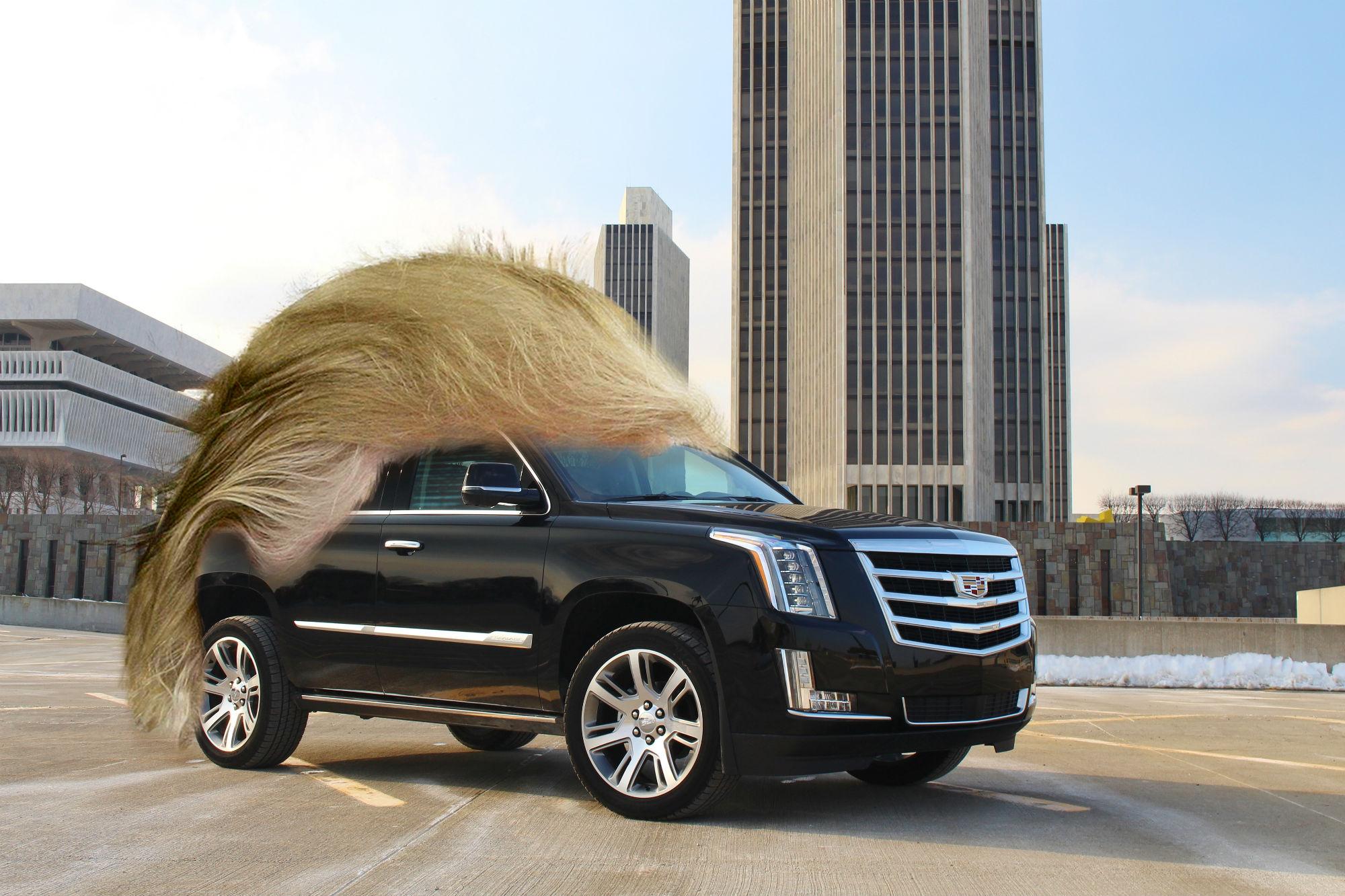 Latest Cadillac Escalade >> If Donald Trump was a car, he'd be a Cadillac Escalade - Car Keys