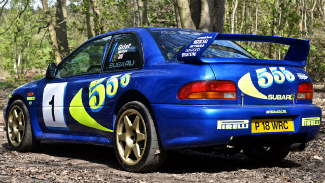 Colin Mcrae S 1997 Subaru Impreza Wrc Sells For Nearly 250 000