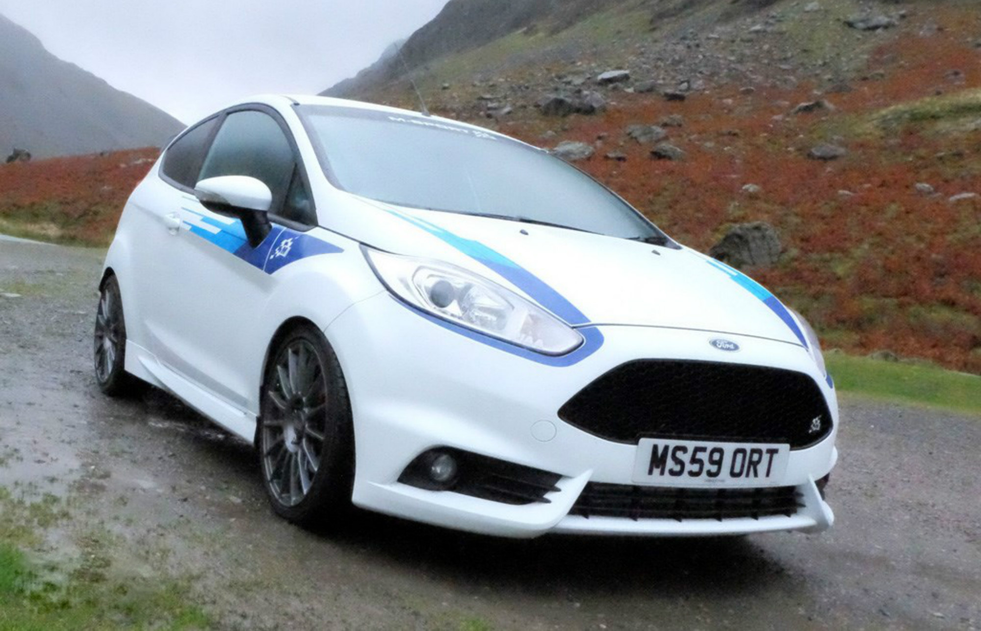 rally inspired ford fiesta m sport edition unveiled car keys. Black Bedroom Furniture Sets. Home Design Ideas