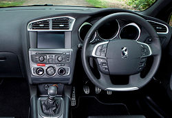 Citroen DS4 Interior.