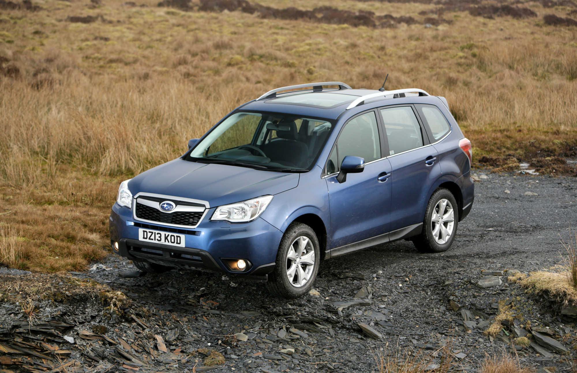 Subaru Forester Suv Review Car Keys