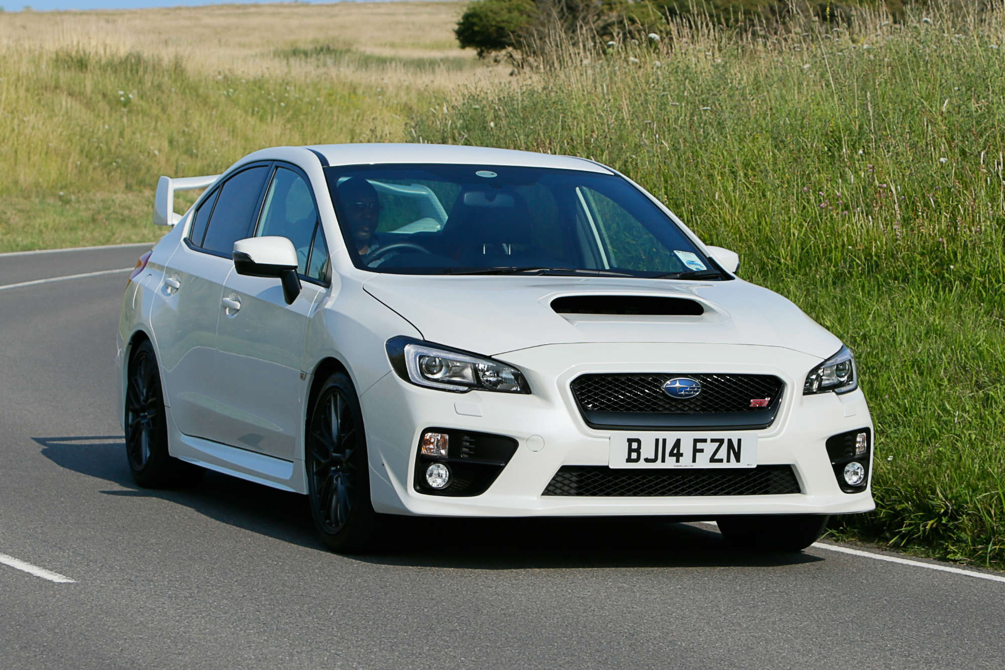 subaru wrx sti saloon review car keys