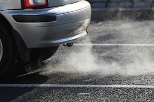 Smoke from Engine